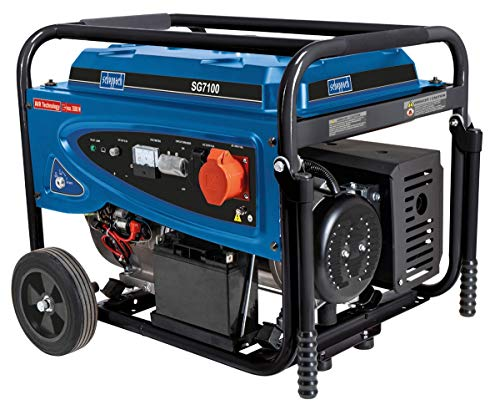 SCHEPPACH SG7100 Stromerzeuger Notstromaggregat Generator, Benzin, 15PS 5500 W