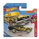 Mattel Cars Hot Wheels Custom '57 Chevy HW Flames 9/250 2019 Short Card