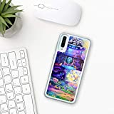 My little pony Samsung Galaxy Case A10 A20 A30 A40 A50 A70 M10 M20 M30 2019 Silicone hard Plastic Cover Clear Transparent pinkie pie rainbow game cartoon toy girls women characters