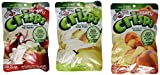 Brothers-ALL-Natural Freeze Dried Fruit Crisps 3 Flavor Variety 6 Bag Bundle: (2) Fuji Apple, (2) Asian Pear, and (2) Peach, .56 Oz. Ea. (6 Bags Total)