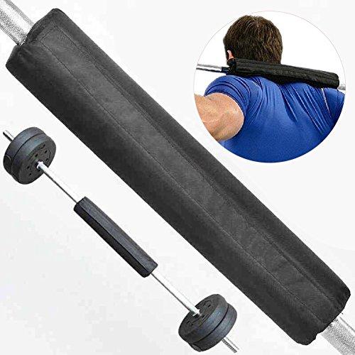Spachy Langhantel-Pads, Leichtathletik-Squat-Pad Langhantel-Pad, Hip Thruster Foam Squat-Bar-Nackenpolster für Frauen Gewichtheben Ausrüstung
