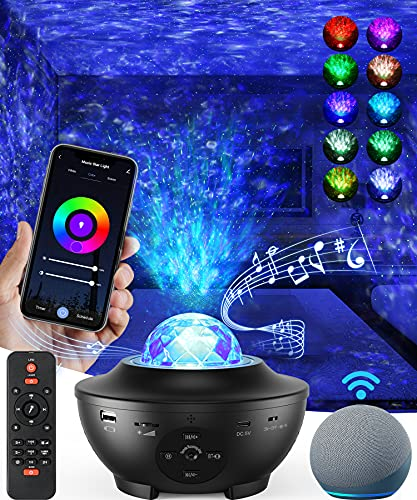 Star Projector Galaxy Projector, Sky Night Light for Bedroom, Room Decor...