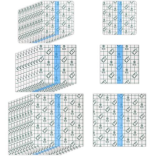 Skisneostype 30 Pcs Waterproof Plaster Stretch Adhesive Bandage Transparent...