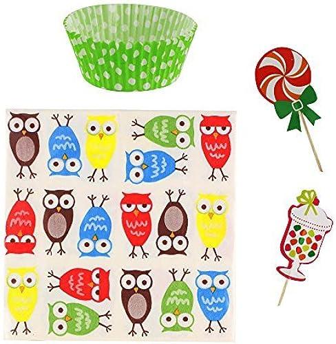 Koehler Owl Cupcake Party Pack (pack of 1 EA)
