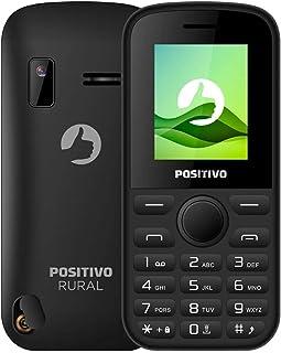 """Celular Rural Positivo P220 Dual SIM 1.8"""".Rádio FM, Câmera,com conector antena"""
