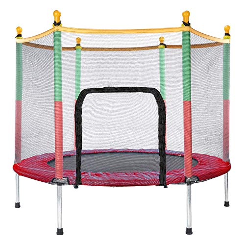 Generisc BNB Products - Cama elástica infantil (140 cm), color rojo