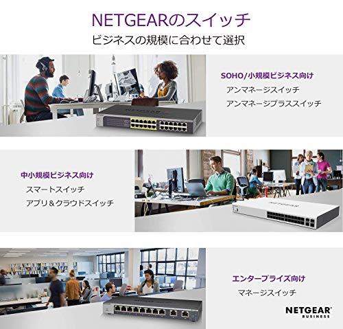 『NETGEAR 卓上型コンパクト アンマネージプラス スイッチングハブ GS116E ギガビット 16ポート VLAN QoS IGMP 静音ファンレス 省電力』の6枚目の画像