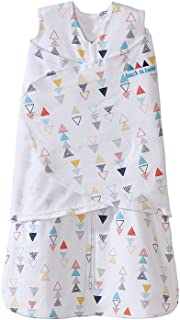 Halo SleepSack Swaddle, 100% Cotton, Triangle Neutral, Multi, Small