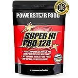 SUPER HI PRO 128 | Premium Mehrkomponenten Protein | 84% Protein i.Tr. | Erstellt nach wissenschaftlicher Formel | Höchstmögliche Biologische Wertigkeit | Deutsche Herstellung | 1000g | Chocolate