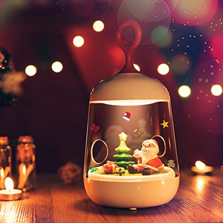 Micro Landschaft Pflanzen Nachtlicht Stecker LED Weihnachtsgeschenke Schlafzimmer Nachttischlampe USB-Lade Lampe bunten Traum A+