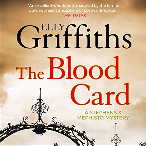 The Blood Card audiobook cover art