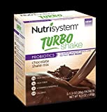 Nutrisystem Turbo Shake Probiotics, Chocolate Shake Mix, 5 Little Packets (Pack of 2)