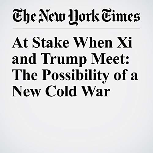 『At Stake When Xi and Trump Meet: The Possibility of a New Cold War』のカバーアート
