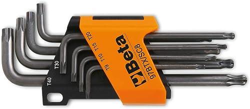per cacciaviti elettrici e manuali OTOTEC 100 mm Set di 8 Punte per cacciavite Torx Extra Lunghe in Acciaio S2