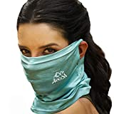Best Cooling Scarves - ARRUSA Unisex-Adult Ice Cotton Cooling Face Cover, Super Review