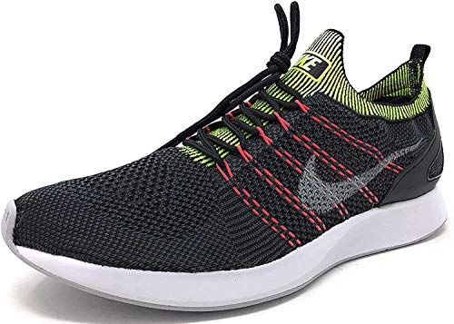 Nike Air Zoom Mariah Flyknit Racer Men's Running Sneaker (10.5, Black/Wolf Grey-Anthracite)