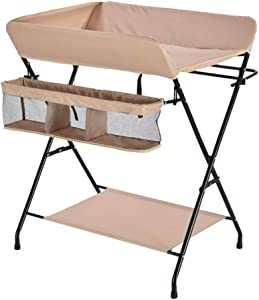YDHYYDQCFJL Baby Diaper Changing Table-Portable Diaper Table Multifunctional Diaper Station Change Table Folding Baby Changing Diaper Station Baby Dressing Table Dressing Table