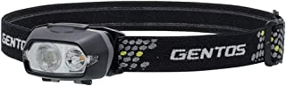 GENTOS(ジェントス) LED ヘッドライト オーヴァ 【明るさ100-270ルーメン/実用点灯1.5-8時間/暖色サブLED/楕円形広範囲照射/1m防水】 ANSI規格準拠
