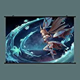 CJH Xenoblade Chronicles 2 Poster Niyah Wallpaper Wall Scroll Poster Sticker Hanging Paintings 40 x 60cm Jouline666
