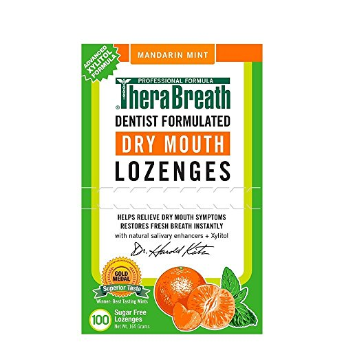 TheraBreath Lozenges Mandarin Mint Review