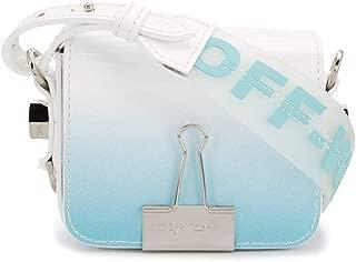 Luxury Fashion | Off-White Womens OWNA087R20G990683100 Light Blue Shoulder Bag | Spring Summer 20