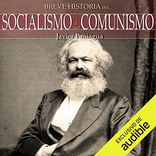 Diseño de la portada del título Breve historia del Socialismo y del Comunismo