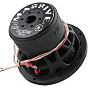 Massive Audio SUMMO64 – 6.5 Inch Car Audio 300 Watt SUMMO Series Competition Subwoofer, Single 4 Ohm, 1.5 Inch Voice Coil. Sold Individually