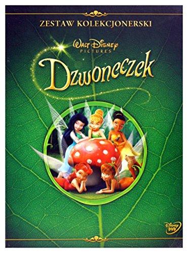 Tinkerbell (BOX) [DVD]+[KSIĄŻKA] [Region 2] (IMPORT) (Keine deutsche Version)
