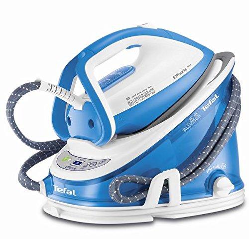 Tefal GV6760 2200W 1.5L Durilium Blu, Bianco ferro da stiro a caldaia