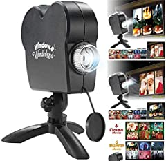 ♛Using a projector, these DVDs let you project scary scenes both indoors and outdoors on any surface. You can even use their projection screen material to make these projections look like they are coming out of thin air. You can also use your TV or m...