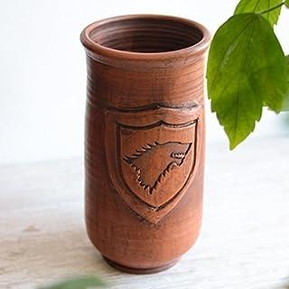 Games of Throne Beer mug STARK Handmade ceramic mug Big cup Handmade pottery mug Gift for