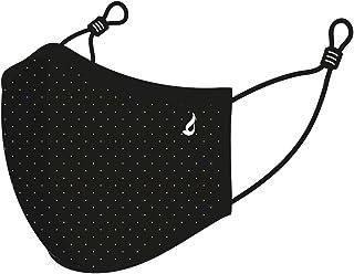 Abbacino Mascarilla adulto lavable mini topos negra