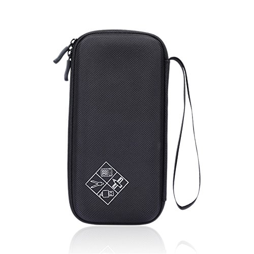 For Graphing Calculator Texas Instruments TI-84 / Plus CE 83 85 Hard Carrying Case Travel Bag Protective Pouch Box -Extra Room for Pen and Accessories(Black) Photo #5