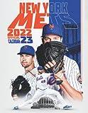 """New York Mets 2022 Calendar: Baseball calendar 2022, SPORT Calendar 2022-2023 – 18 months – BIG SIZE 17""""x11"""". Planner for all fans kids boys"""