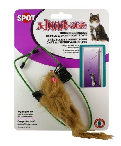 A-Door-Able Bouncing Mouse Jouet pour chat