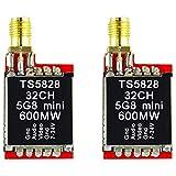 JVSISM TS5828 5.8G 32CH 7-16V 600MW Drahtloser Video Audio Sender für QAV250 ZMR250 Vx210 Martian Kohle Faser Quadcopter Rahmen