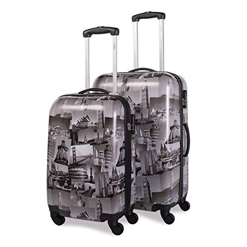 ITACA , Set di valigie Nero nero