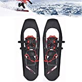 Snowshoes for Men and Women, Lightweight Snowshoes Aluminum Alloy with Adjustable Ratchet Bindings, for Winter Outdoor Sports