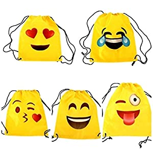 51oPoKKchUL. SS300  - Mochila Petate Emoticonos - Mochilas, petates Infantiles, Infantil para niños y niñas. Regalos, Detalles y Recuerdos Invitados de Bodas, Comuniones, Fiestas de Cumpleaños