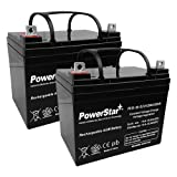 PowerStar Replacement for Revo, Jazzy, Select Traveller,Select,Select 6 & 7 Power Chair Batteries PS12-35