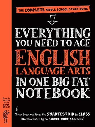 Everything You Need to Ace English Language Arts in One Big Fat Notebook: The Complete Middle School Study Guide (Big Fat Notebooks) (English Edition)