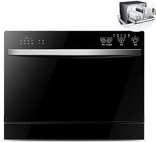 Gpzj Lavavajillas de sobremesa Lavavajillas Compacto para el hogar, Limpieza rápida de 6 Cubiertos, operación táctil, Ahorro de Electricidad para Apartamentos pequeños Cocina para el hogar