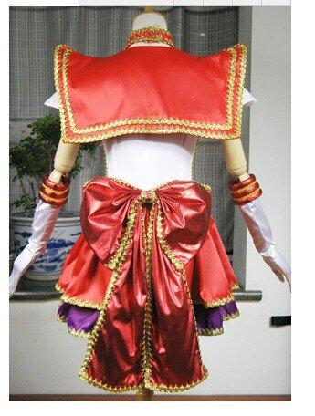 『海外工場直送!豪華版 コスプレ衣装 美少女戦士セーラームーン 火野麗 コスプレ衣装 仮装 コスチューム』のトップ画像