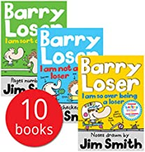 Barry Loser Collection Jim Smith 10 Books Set (I am not a Loser, I am still not a Loser, I am so over being a Loser, I am sort of a Loser, Barry Loser and the holiday of doom, Barry Loser and the Case