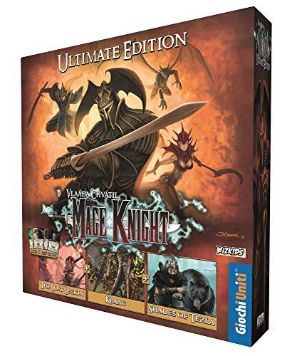 Giochi Uniti- Mage Knight-Ultimate Edition La Versione Definitiva di MK con Tutte Le espansioni, Multicolore, 1