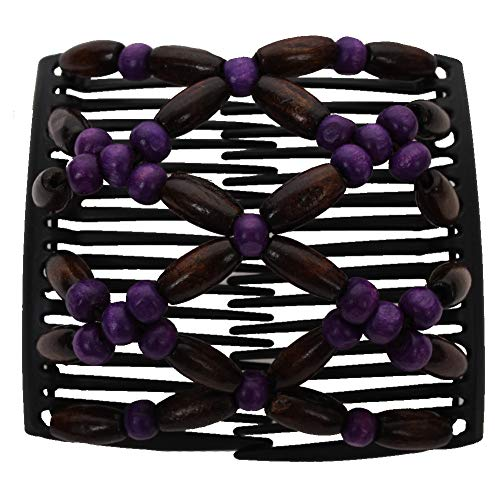 JUSTFOX - Trend African Butterfly Hairclip lila