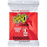 Sqwincher Zero Qwik Stik Sugar Free, Fruit Punch, .11 0z (Pack of 50)