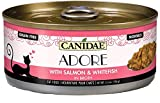Canidae Adore Grain Free Wet Cat Food, Salmon and Whitefish in Broth, 2.46oz