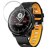 Vaxson 3 Unidades Protector de Pantalla de Cristal Templado, compatible con Hommie L3 smartwatch Smart Watch, 9H Film Guard Película Protectora [No Carcasa Case ]