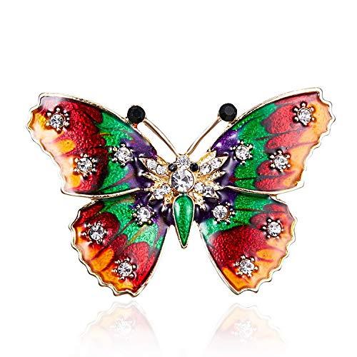 Schmetterling Brosche Anstecker Tier Brosche K36